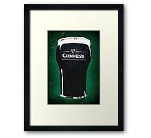 pint of beer 2 Framed Print
