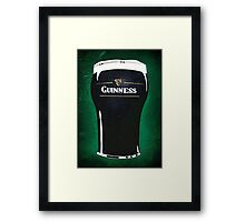 pint of beer 2 Framed Print