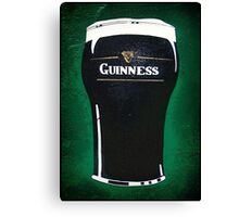 pint of beer 2 Canvas Print