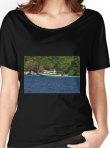 Island stop Women's Relaxed Fit T-Shirt