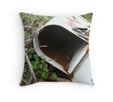 No More Mail Throw Pillow