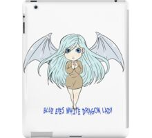 Yu-Gi-Oh! Kisara blue eyes white dragon lady iPad Case/Skin