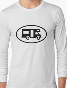 Camper Oval Long Sleeve T-Shirt