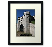 The Battery Potter Framed Print