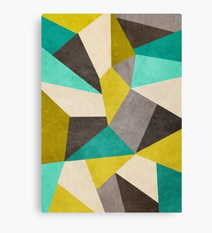 Polygons Canvas Print