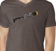 FRESH INK DISTRESSED Mens V-Neck T-Shirt