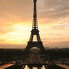 Sale! The Eiffel Tower! Sunset! by Vitalia