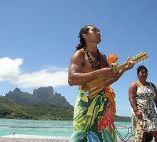 entertainers at Bora Bora, French Polynesia by chord0