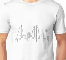 Bahrain Buildings Outline Unisex T-Shirt
