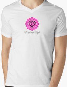 Diamond Life: Clarity ∞ Balance (love energy)  Mens V-Neck T-Shirt