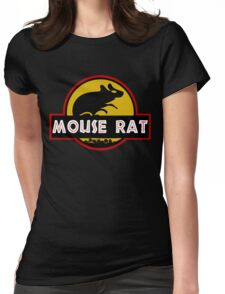 Jurassic Mouse Rat Womens Fitted T-Shirt