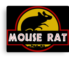 Jurassic Mouse Rat Canvas Print