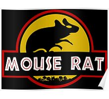 Jurassic Mouse Rat Poster