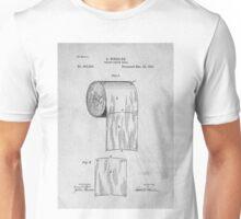 Toilet Paper roll original patent art Unisex T-Shirt