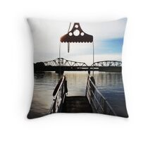 red river. Throw Pillow