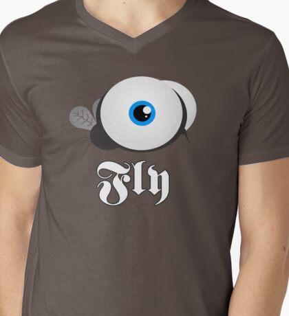 Supa Fly Mens V-Neck T-Shirt