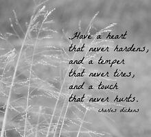 Charles Dickens Heart by Kimberose