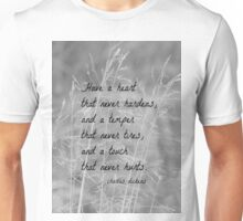 Charles Dickens Heart Unisex T-Shirt