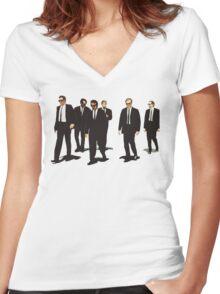 Diamond Heist Women's Fitted V-Neck T-Shirt