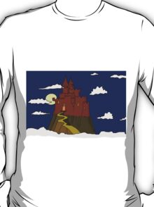 Magical castle in the clouds T-Shirt