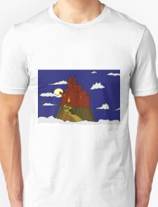 Magical castle in the clouds Unisex T-Shirt