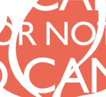 To Camp or Not To Camp Sticker