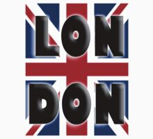 UNION JACK, LONDON, ENGLAND, IN COLOUR, UK, Britain, BRITISH, T-Shirt