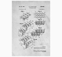 Lego original patent art for toy bricks Unisex T-Shirt