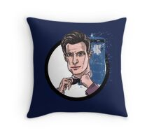 Eleventh Lord of Time Throw Pillow