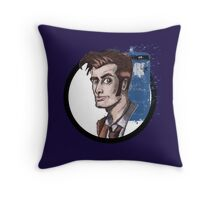 Tenth Lord of Time Throw Pillow