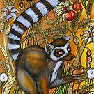 Eden (Ring-Tailed Lemur) by Lynnette Shelley