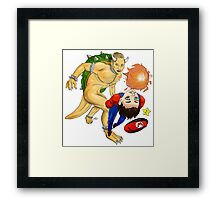 Hannibal - Bowser and Mario Framed Print