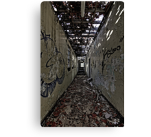 Corridor of Madness Canvas Print
