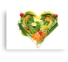 Heart of vegetables! SALE! Canvas Print