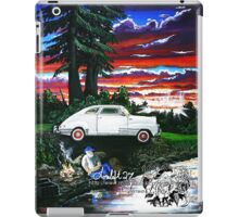 fishing with a friend iPad Case/Skin