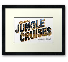 Blanka's Jungle Cruises Framed Print