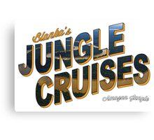 Blanka's Jungle Cruises Canvas Print