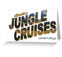 Blanka's Jungle Cruises Greeting Card