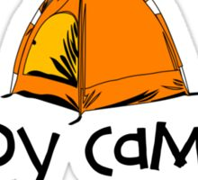 Happy Camper Sticker