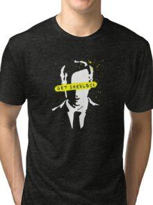 Moriarty Get Sherlock  Tri-blend T-Shirt