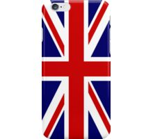 British, Union Jack Flag, 1;2 UK, Blighty, United Kingdom, Portrait, Pure & simple  iPhone Case/Skin