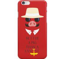 Porco's Wisdom iPhone Case/Skin