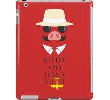 Porco's Wisdom iPad Case/Skin