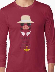 Porco's Wisdom Long Sleeve T-Shirt