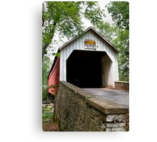 Sheards Mill Bridge Canvas Print