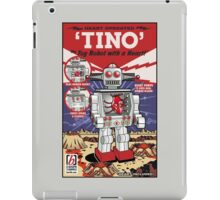 Tino the Heart Operated Toy Robot (Classic) iPad Case/Skin