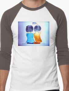 Cute selfie Men's Baseball ¾ T-Shirt