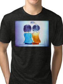 Cute selfie Tri-blend T-Shirt