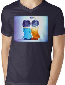 Cute selfie Mens V-Neck T-Shirt
