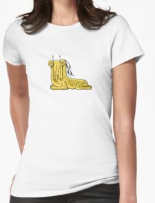 Fantasy Cute Monster Character Womens Fitted T-Shirt